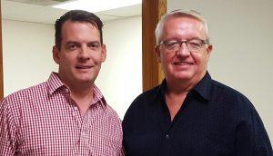Dan Bennett Jr. and Dan Bennett Sr.